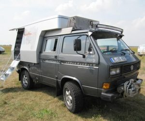 Custom Doka Syncro Camper with Steel Roof Rack