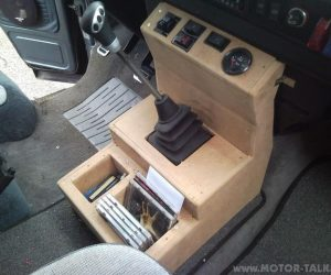 Custom Front Console