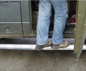 Custom Aluminum Side Step for Vanagon