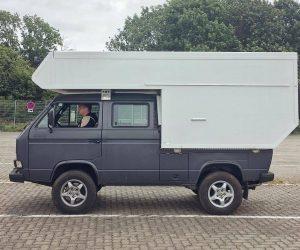 Double Cab Doka Truck with Custom Camper