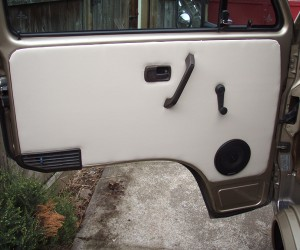 Restoring the Vanagon door panels