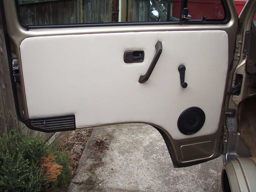 Restoring The Vanagon Door Panels Vanagon Hacks Amp Mods