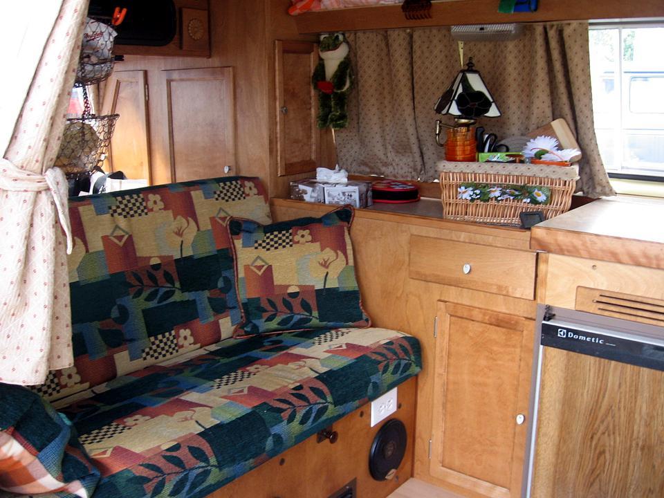 Custom Vanagon interior with three burner stove | Vanagon ...