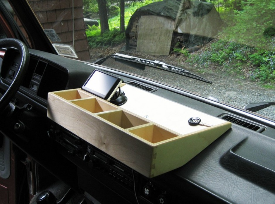 Dashboard Tray Vanagon Hacks Amp Mods Vanagonhacks Com