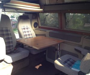 Dehler Vanagon Interior Looks Great
