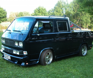 Custom VW T3 Doka