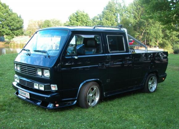Custom VW T3 Doka