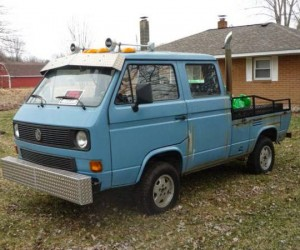 A hacked up 1990 VW Double Cab Syncro