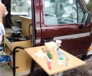 Vanagon Doorway Kitchen