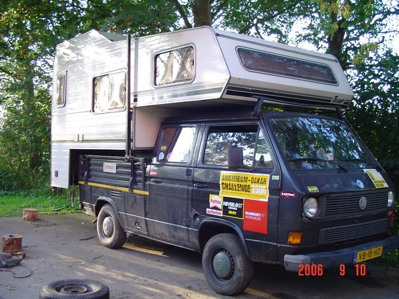 The double cab camper
