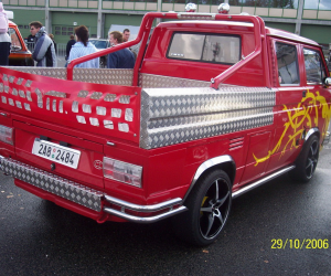 Incredible Vanagon double-cab pick up