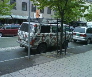 Modern camo paint job?