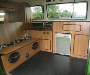 Syncro with bespoke interior