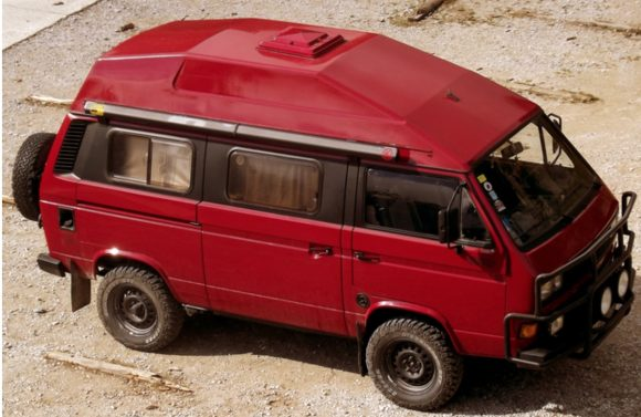 High Top T3 Syncro with Roomy Interior | Vanagon Hacks & Mods