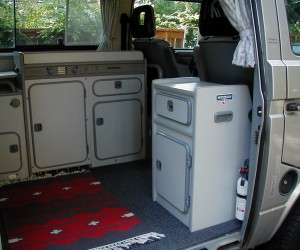 Custom storage cabinet for your Vanagon