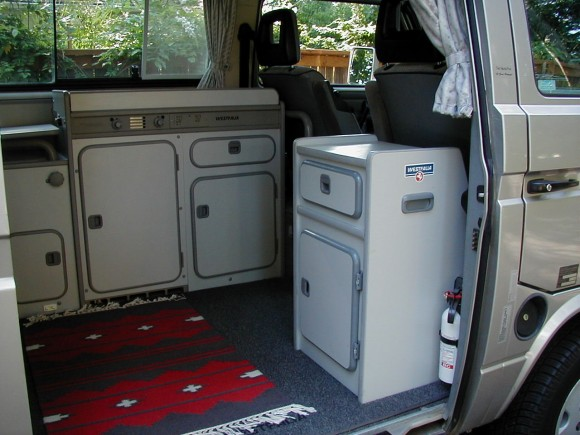 Custom storage cabinet for your Vanagon