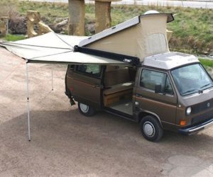 Foxing 270 degree awning