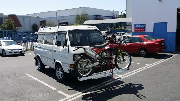 This Time The Samba User Mblotz Decided To Mount His Bike On Front Bumper He Modified A Rocky Mountain Westy