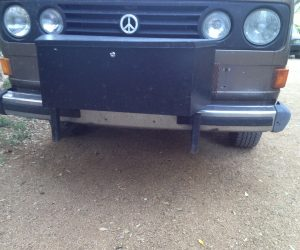 Front bumper storage box