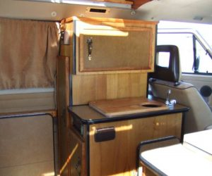 1984 High Top Camper Front Kitchen
