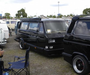 Vanagon converted to a full trailer