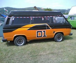 The General Lee Vanagon