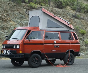 This 1986 Vanagon Syncro Giraffe is a beauty