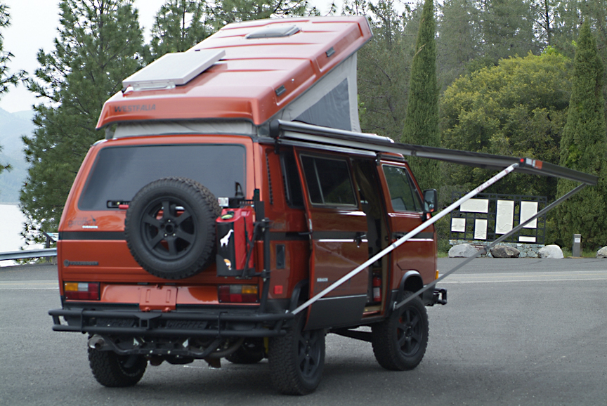 This 1986 Vanagon Syncro Giraffe Is A Beauty Vanagon