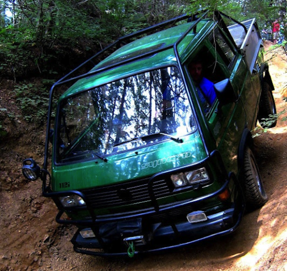 green-double-cab