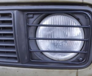 Round headlight guards