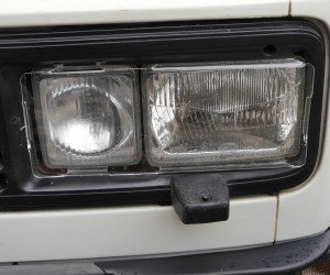 Square headlight protectors