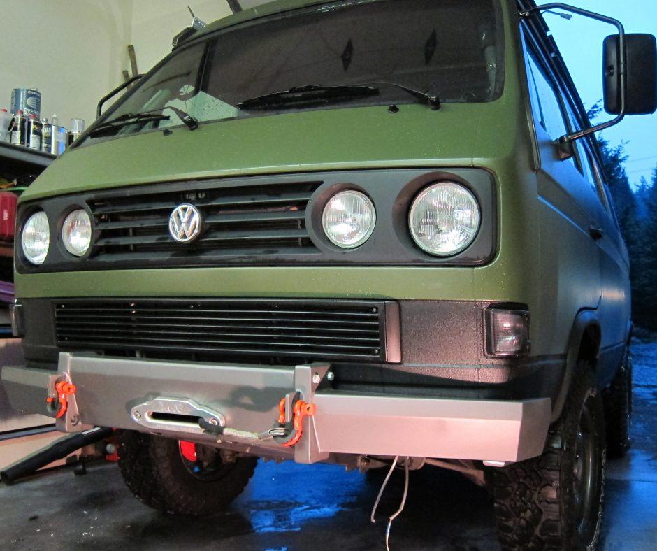 custom heavy duty bumper vanagon hacks mods vanagonhackscom