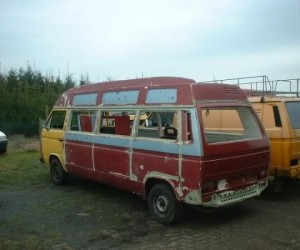 Extended high top Vanagon project