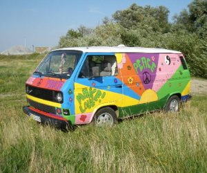 Another hand painted hippy Vanagon
