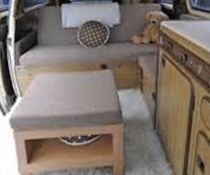 "The ""homey"" Vanagon interior"