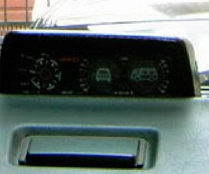 Inclinometer added to the Vanagon