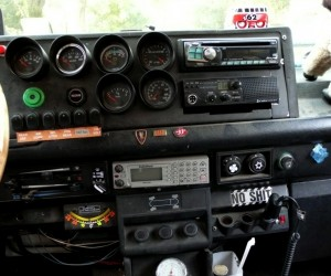 The Vanagon cockpit you have to see to believe