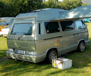 Interesting Grooved Vanagon Body Kit