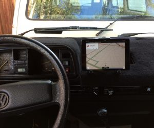 Vanagon iPad dash mount