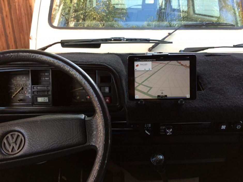 vanagon ipad dash mount vanagon hacks mods vanagonhackscom