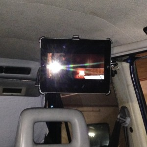 Mounting the iPad in the Vanagon