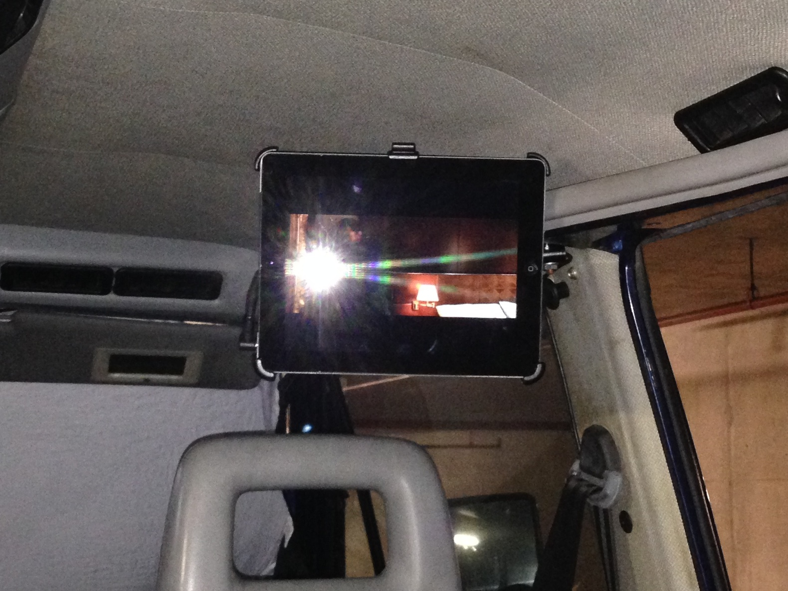 Our Hacks Vanagon Mods Ipad Wiring Harness Mounted In