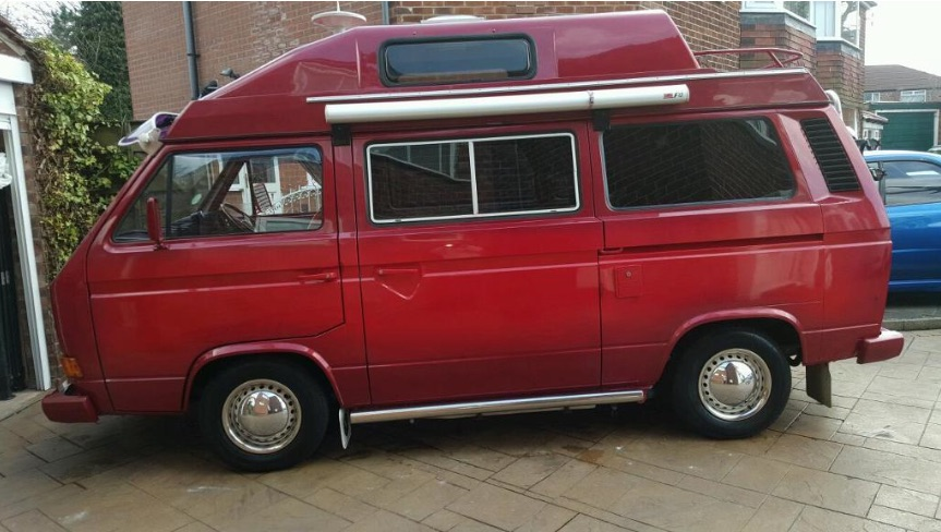 Vicodin High VW T25 Karisma Camper ...