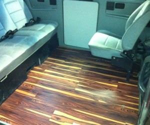 """African Wood"" laminate flooring"