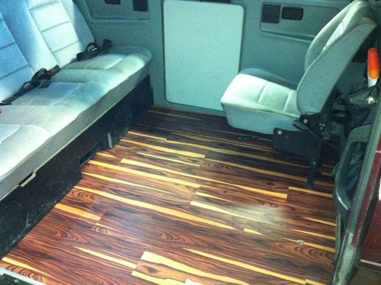 Laminate This Is A Nice Installation Of Allure Trafficmaster Flooring In The Vanagon