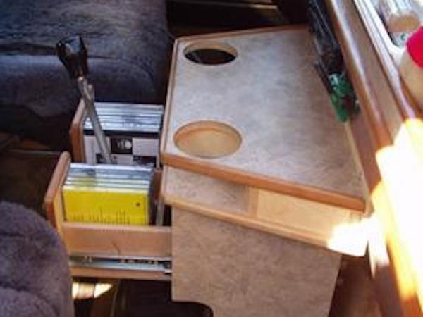 Wooden Console For Vans ~ Interior vanagon hacks mods vanagonhacks