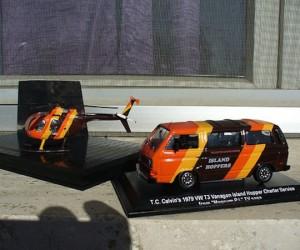 Magnum P.I. Vanagon model