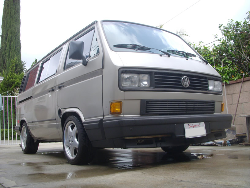 Mercedes Wheels On The Vanagon Vanagon Hacks Amp Mods