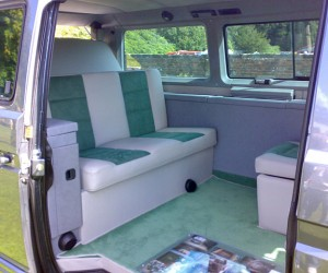Newly upholstered interior looks brand new