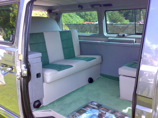 Newly Upholstered Interior Looks Brand New Vanagon Hacks